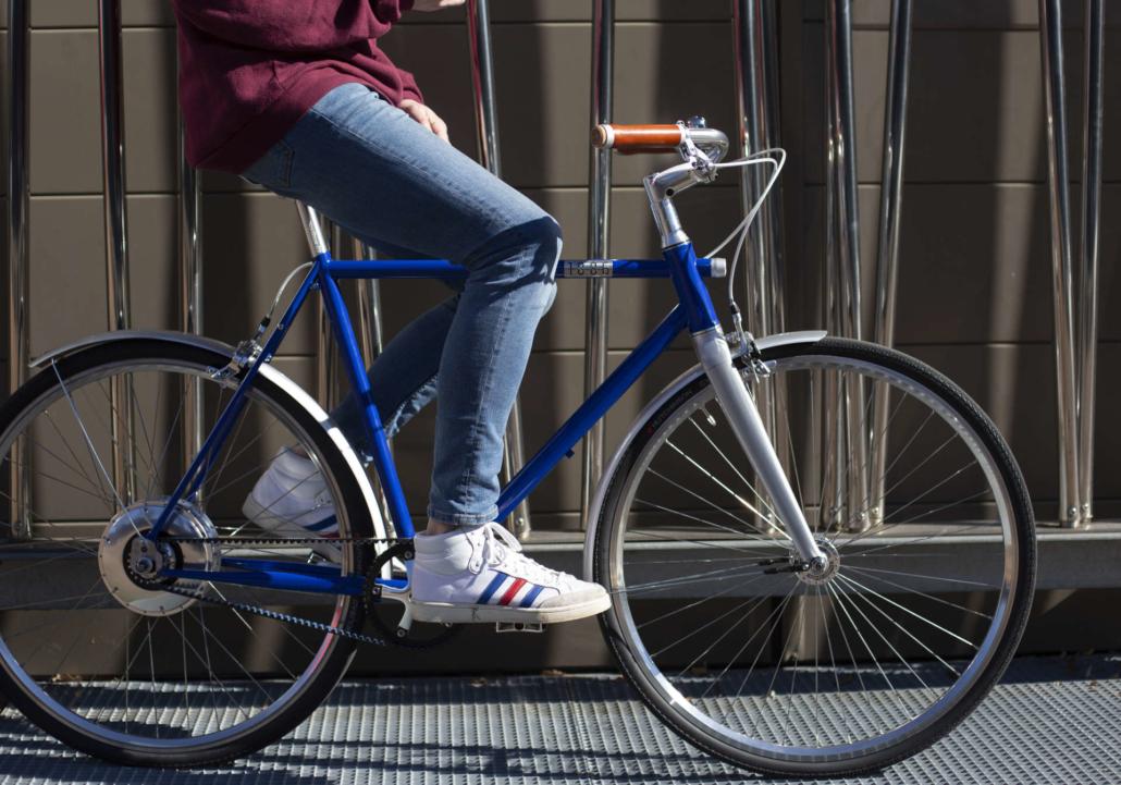Vélo électrique 1886